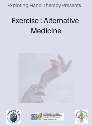 Exercise : Alternative Medicine