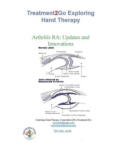 Arthritis RA: Updates and  Innovations