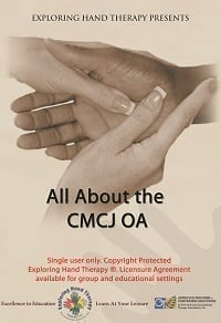 All About the Thumb CMCJ Osteoarthritis