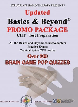 Hand Therapy Certification CHT ® Package Discount PROMO UPDATED