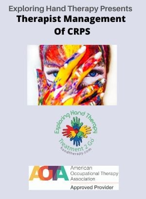 CRPS: Updates in Therapist Management